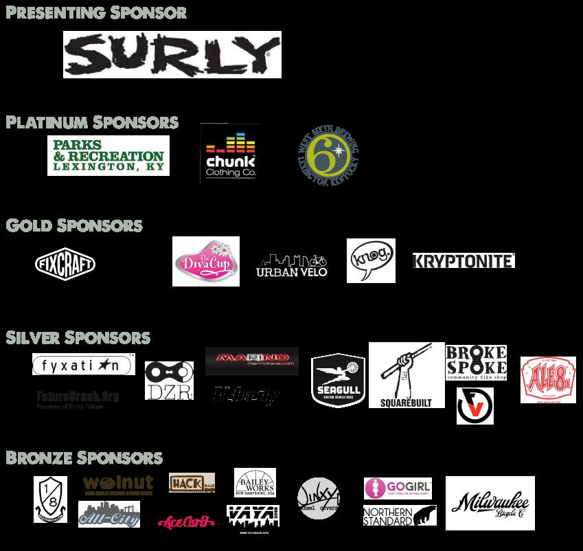 Ladies Army IV Sponsors